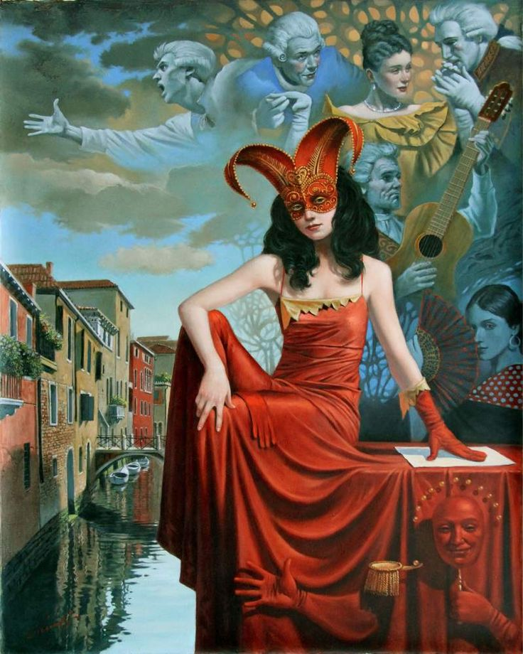 12th Caprice of Casanova | 2015 | Michael Cheval
