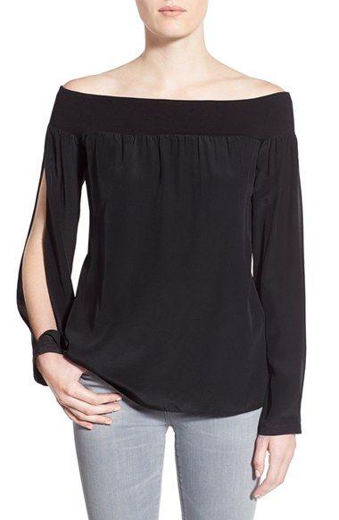 Women's Bailey 44 'Spacial Aspect' Off the Shoulder Blouse