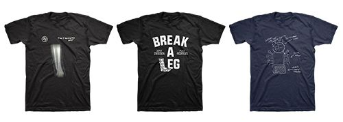 """Break A Leg"". Dave Grohl Creates A Limited Edition Of Merch"