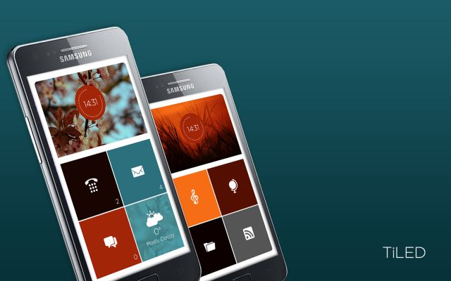 Tiled - Best theme apps for Android