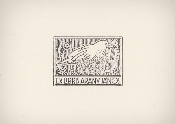 Ex Libris ♫ János Arany by Gergő Gilicze, via Behance