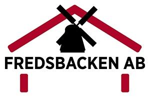 Logotype för Fredsbacken AB.