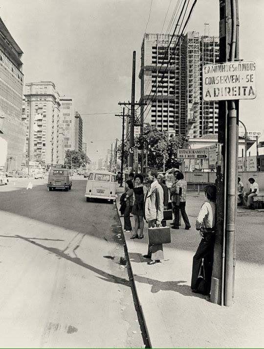 Av. Paulista em 1970.