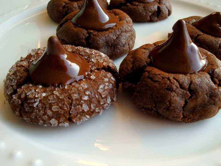 Chocolate Kiss Cookies from Good Dinner Mom