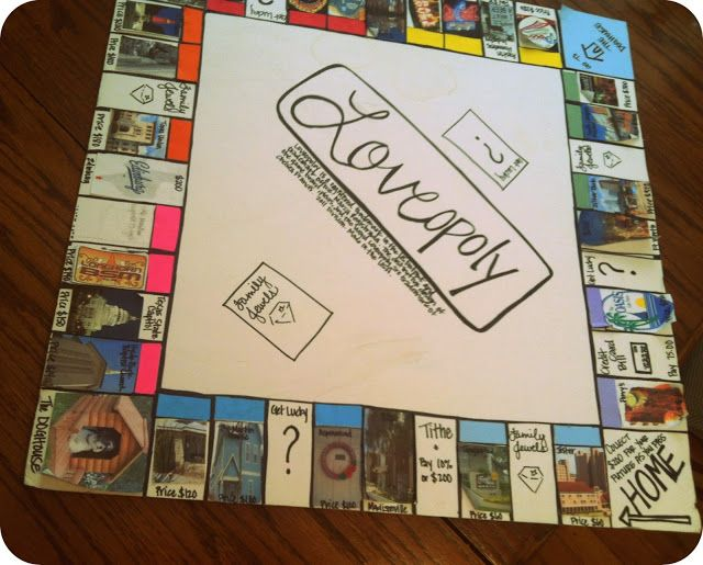 Cool board game ideas