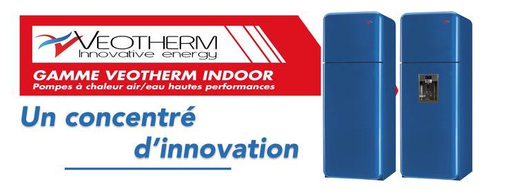 La Pompe à chaleur VEOTHERM Indoor est ultra silencieuse, compacte et à très haut rendement de 5 à 15 kW.   Extraction d'air d'un bâtiment et récupération énergétique de celui-ci à un niveau deux à trois fois supérieur à un système double flux.  Production d'eau chaude sanitaire avec une température de stockage comprise entre 60 et 95°C.  Un circuit de chauffage thermodynamique compatible en basse et haute température.  Un circuit de chauffage sèche serviettes thermodynamique compatible…