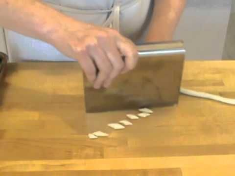 Video tutorial on how to shape Cavatelli, Orecchiette, Trofie, and Pici Pasta. Clever tip to use a bamboo sushi mat to form the cavatelli ridges