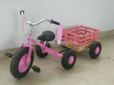 Pink Trike for Children. Tow and Go Kids Trike/Bicycle. Kids Trike With Trailer.