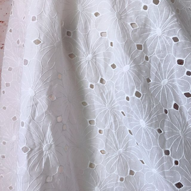 1yds Organza Ruffles Lace Fabric Tutu Skirt Hem Lace Trim Clothes Decor Edge