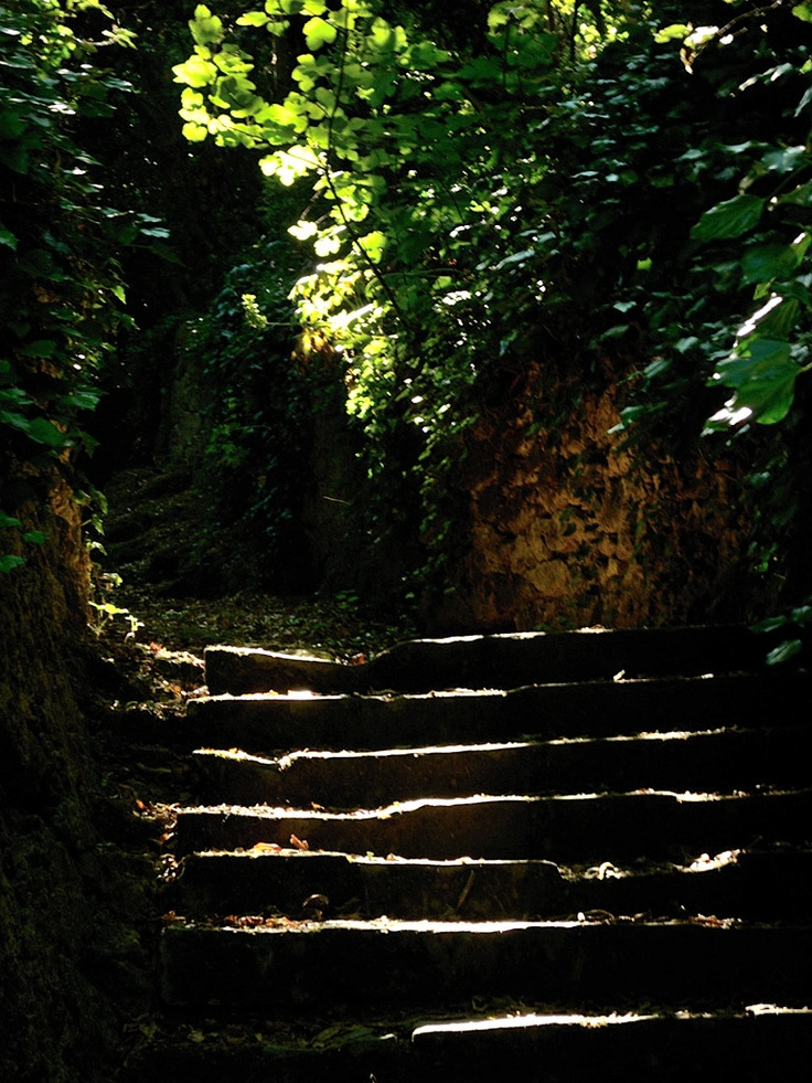 ... into the past.  Laconi - Park and garden of Aymerich castle - Sardinia