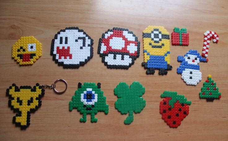 creaciones hama bead