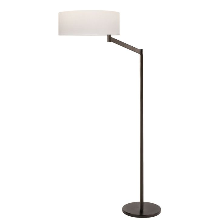 Nxt to 2 lounge ladies chairs, Fm Rm - Swing Arm Floor Lamp | Steelyard