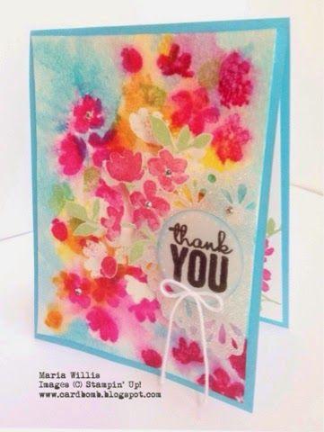 Cardbomb: WWYS #10: Painted Petals Maria Willis www.cardbomb.blogspot.com Stampin' Up!