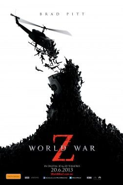 "Paramount Pictures recently provided a 15 minute preview of their new film World War Z. The Film is based upon the novel World War Z: An Oral History of the Zombie War, written by Max Brooks. From what has been shown, the film will focus on ""The Great Panic"", the title given to the original surge of the outbreak."