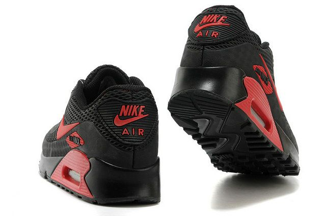 Nike Air Max 90 New Men's shoes Black Red | Nike air max 90, Nike ...