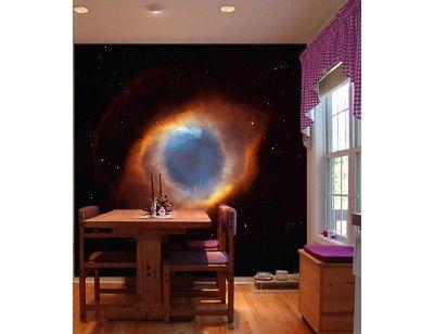 Nébuleuse de l'Hélice NGC7293 7.5' x 8' (2,29m x 2,44m) | Mural Unique