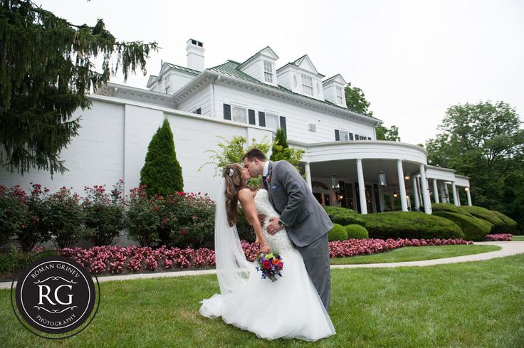 The Mansion at Valley Country Club wedding portraits