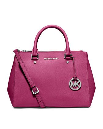 MICHAEL Michael Kors  Medium Sutton Satchel.  Just bought this.  The size, color, style, everything about this bag rocks!!!!!