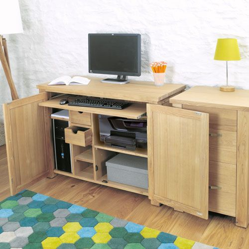 8 best images about Hideaway or Hidden fice Desks for
