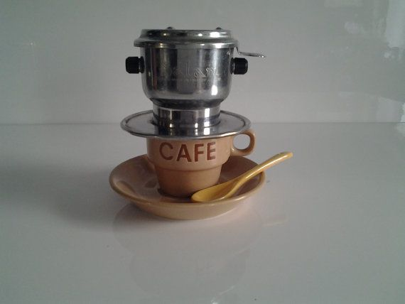 Coffee Maker Made In France : 17 Best images about VIETNAMESE ICED COFFEE CAFE SUA DA on Pinterest Cappuccino coffee, Making ...
