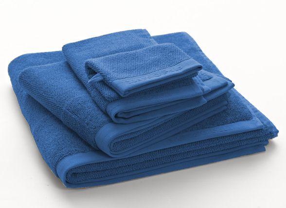 Marc O'Polo Handdoeken Timeless uni blue