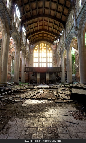Sanctuary, in the book Gary Indiana, a city's ruins