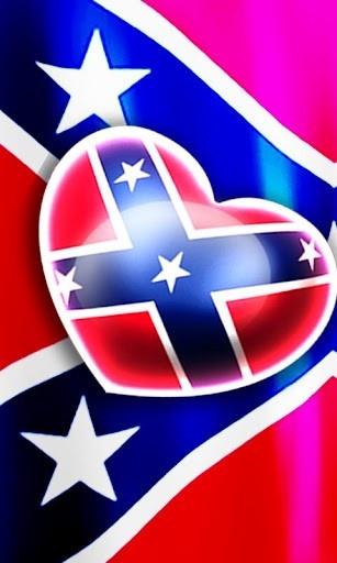 rebel flag background | View bigger - Love Rebel Flag Live Wallpaper for Android screenshot