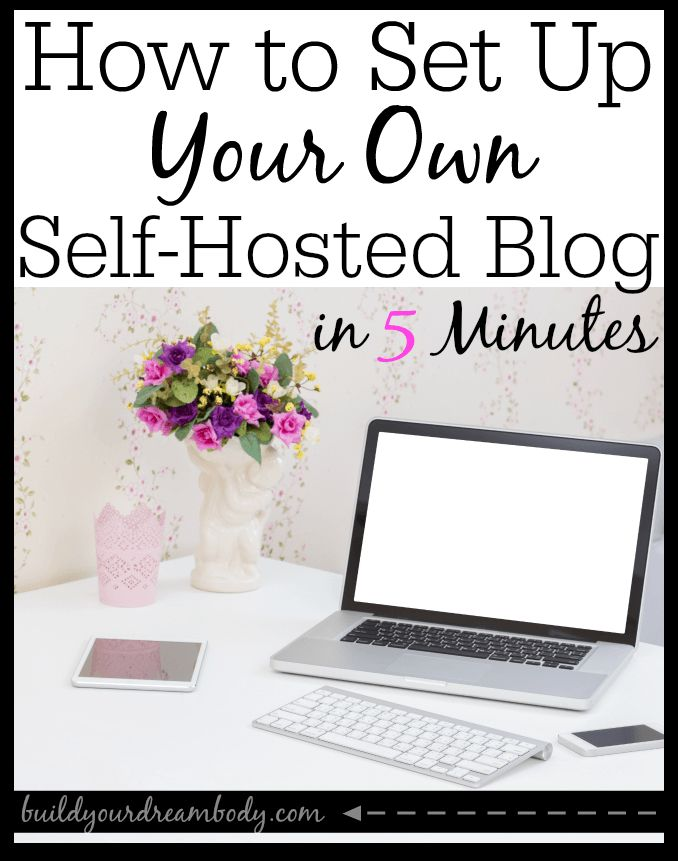 Get started with your own blog in 5 minutes. It's easier thank you think!