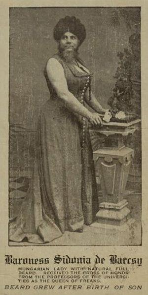 Barcsy Szidónia bárónő a mai Budapesten született 1866.05.01-én. Duplán…