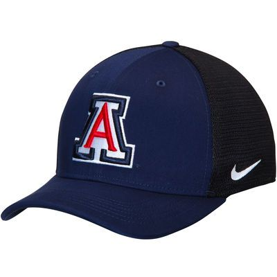 Men's Nike Navy/Black Arizona Wildcats AeroBill Classic 99 Mesh Back Flex Hat