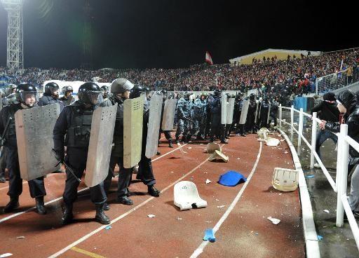 FOOTBALL -  Hooliganisme: nouveau scandale dans le football en Russie - http://lefootball.fr/hooliganisme-nouveau-scandale-dans-le-football-en-russie-2/
