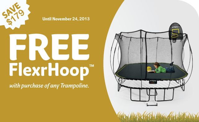Trampoline | World's Safest Trampolines & Exercise Equipment | Springfree ™ Trampoline USA