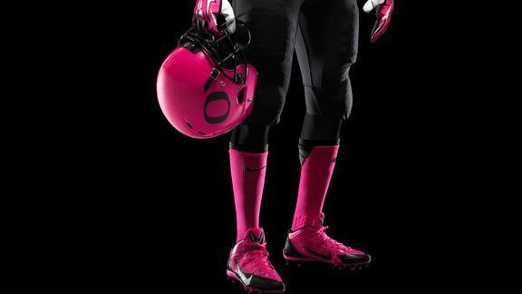 Oregon to wear pink helmets vs. Wash. St.