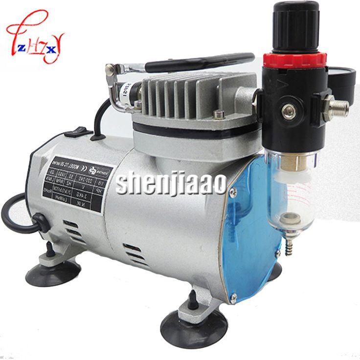 110V 220 V  23-25 L/ min 1/5Hp Small Airbrush MS18-2 Compressor Small Vacuum Pump A 18B model airtight pump #Affiliate