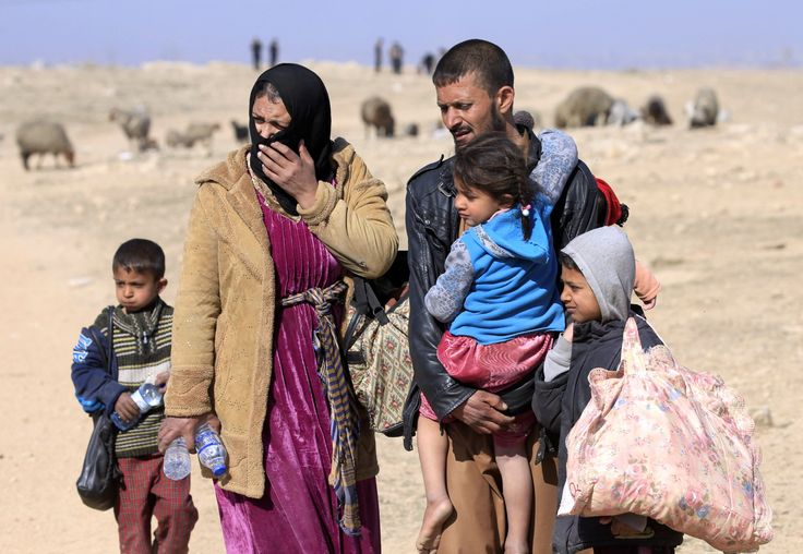 Iraqis are giving their kids Valium in order to escape from ISIS in Mosul