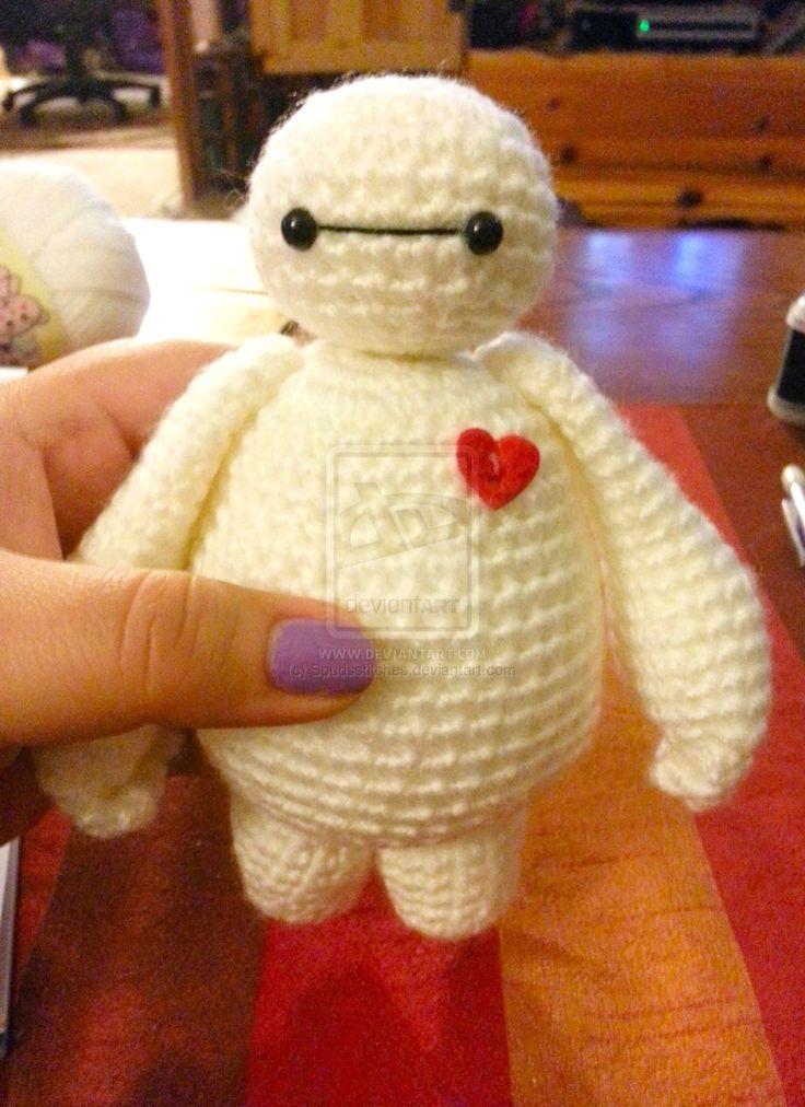 Baymax Big Hero 6 Amigurumi Crochet Doll by Spudsstitches.deviantart.com on @DeviantArt