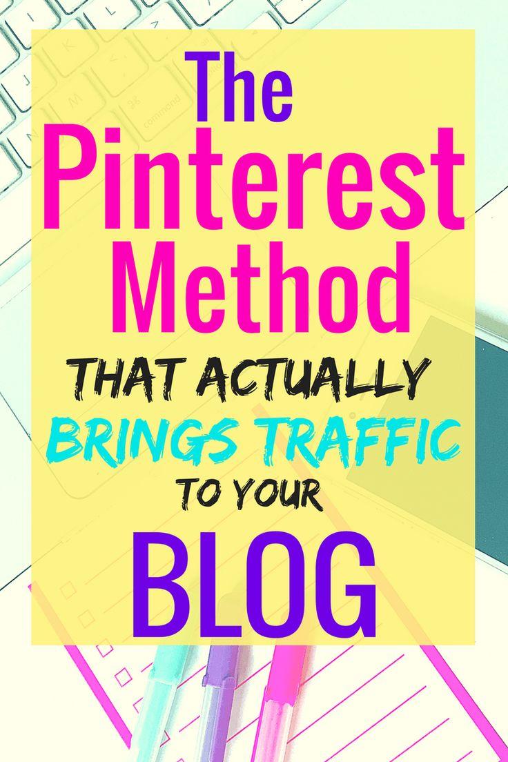 Pinterest Secret Method that works!