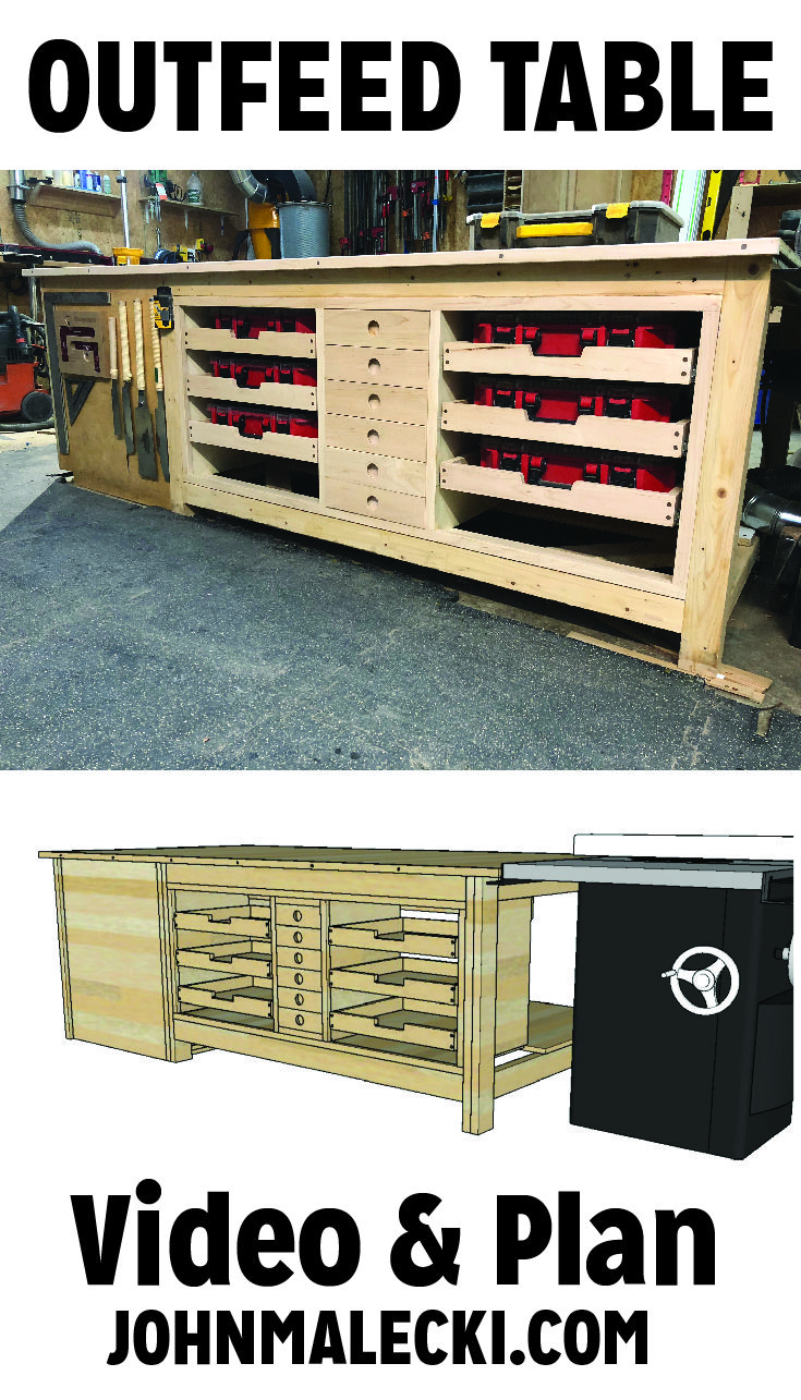 DIY Woodworking Ideas My Shop needed a major upgrade when it came to my workbench storage. So i added ...