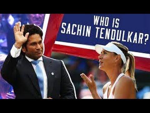 Sachin, Who? Maria Sharapova Clueless About Tendulkar http://edlabandi.com/64151-sachin-who-maria-sharapova-clueless-about-tendulkar.html