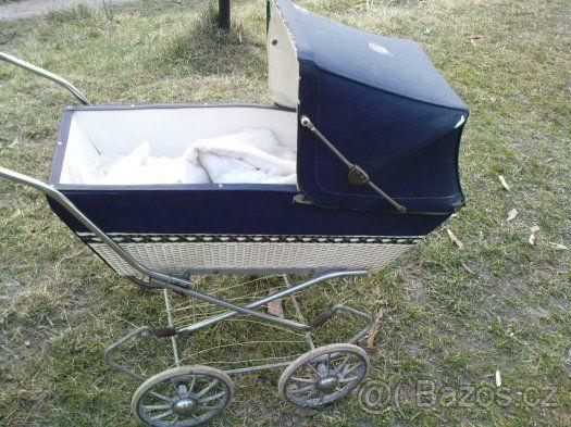 retro kočárek liberta pro panenky - 1