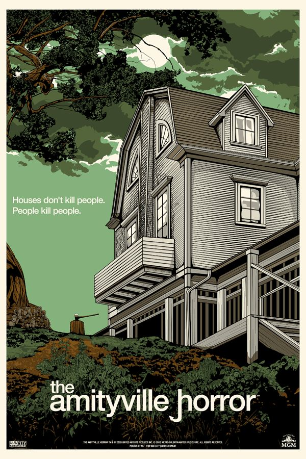 The Amityville Horror - posters by New Flesh
