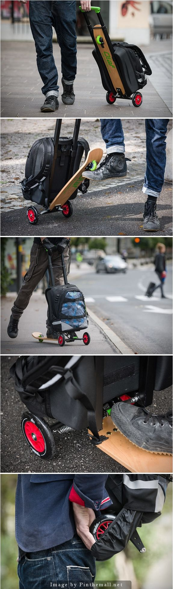 Olaf Scooter - multifunction hybrid kick-scooter | Click to visit the Kickstarter campaign.