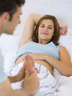 Relief for Common Pregnancy Pains: What Causes Swelling? (via Parents.com)