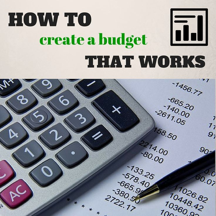 How to Create a  Budget That Works