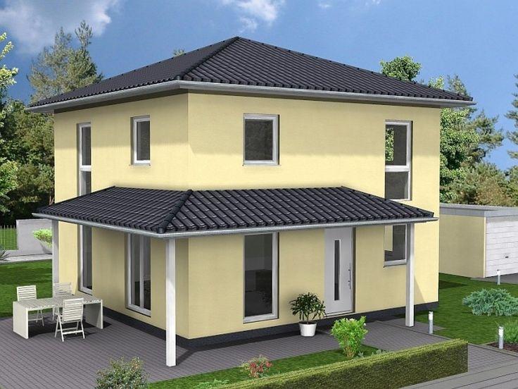 Toskana   #Einfamilienhaus Von HOGAF Hausbau GmbH   HausXXL #Massivhaus  #Energiesparhaus #mediterran