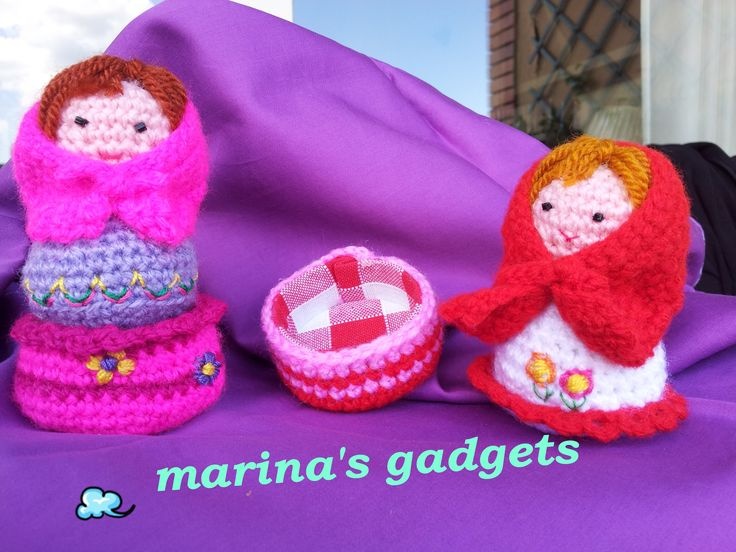 Crocheting Gadgets : about i miei lavori alluncinetto (crochet, amigurumi and gadgets ...
