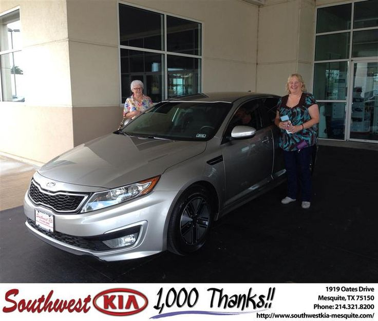 #HappyAnniversary to Alicia Harris on your 2012 #Kia #Optima from Clinton Miller at Southwest Kia Mesquite!