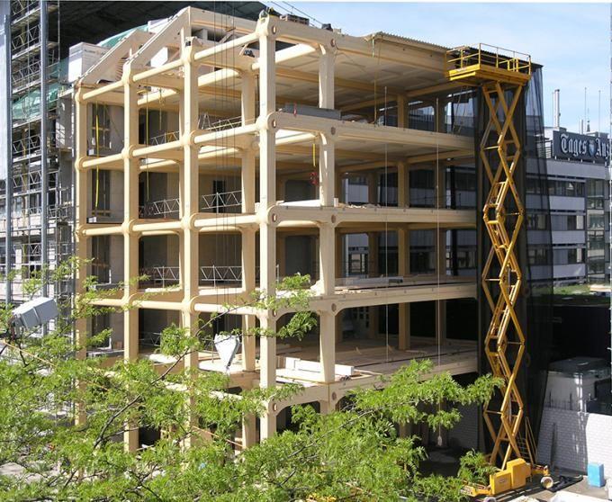 The New Tamedia Building by Shigeru Ban