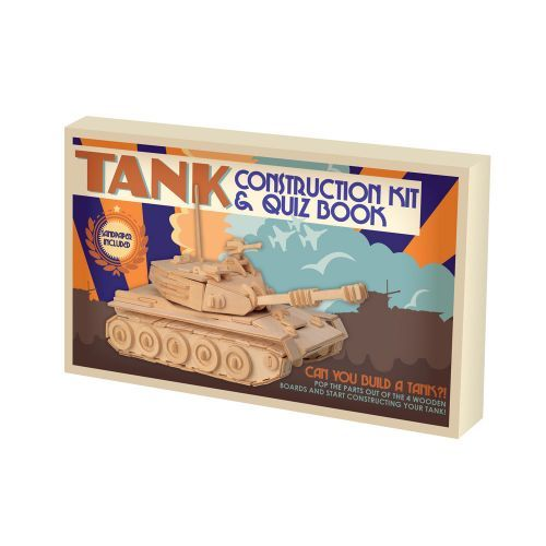 Buy the Tank Construction Kit and Quiz Book from our range of toys and games gifts. For a complete range of toy gifts shop online at English Heritage. Next day and international delivery available.