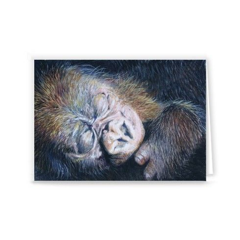 Busu Greeting Card by laurenhayesbissell at zippi.co.uk